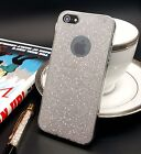 Shiny Silver Bling Fabric Skin Soft TPU Case For Iphone 5/5s {[jl295