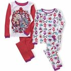 Ever After High 4 PC Long Sleeve Thermal Shirt Pants Underwear Set Girl Size 8
