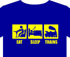 T shirt up to 5XL Trains model Hornby Triang track station locomotive coach book