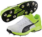 Puma EvoSpeed Cricket Bowling Shoes Removable Spikes Lace Up Running Trainers