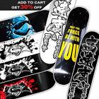 Pro Skateboard Deck Canadian Maple Custom Hand Painted 32X8 Pavoz