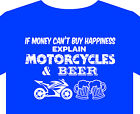 T Shirt up to 5XL motorcycle biker Honda Suzuki Yamaha Moto Guzzi Victory BMW