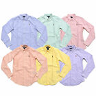 Polo Ralph Lauren Womens Shirt Slim Fit Oxford Buttondown 0 2 4 6 8 10 12 14 New