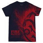 Game of Thrones Targaryen Splatter Dragon Sigil Licensed Adult Unisex T-Shirts