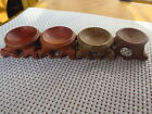 49mm BRAND NEW  Hard Wood Crafted Stand Easel For Round Ball Sphere Object