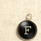 Typewriter Key Initials Charm by IMCC & Crystal Dangle by Jewel Kade Plunder