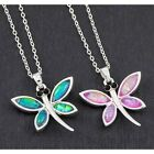 Equilibrium 274641 - DRAGONFLY 2 TONE IRRIDESCENT PENDANT NECKLACE - Shine