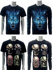 Rock Chang T-shirt Tattoo Glow in Dark Long Short Sleeve Fox Wolf Everday Look