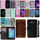 For Samsung Galaxy J1 J100 Magnetic Flip Wallet Leather POUCH Case Cover + Pen