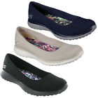 Skechers Microburst One-Up Shoes Womens Memory Foam Sport Go Walk Flats Trainers