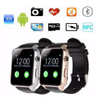 New GT88 Waterproof Smart Watch Bluetooth SIM V4.0 Camera NFC Heart Rate Monitor
