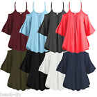 Women Fashion Off Shoulder Short Sleeve Summer T-Shirt Casual Tops Blouse Tee