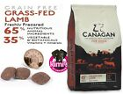 Canagan Natural Adult Grain Free Dog Food Grass Fed Lamb in 2kg 6kg 12kg bags