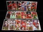 1988 49ers Police Cards...Singles