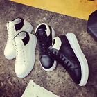 New Women's Shoes Leather Sneakers Casual Walking Running Athletic Sports Shoes