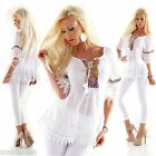 WoW Exclusive 5 People!S Häkel Bluse Tunika  Neu