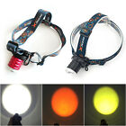 XPE 3-Mode 3 Colors Chargeable LED Headlight Flashlight Head Torch Lamp Outdoor