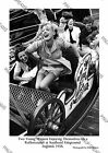 Iconic Image of 2 Ladies Enjoying Themselves on a Coaster Ride at Southend, 1938