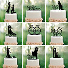 bride and groom cards - New Wedding Cake Topper Insert Card Love Groom And Bride Acrylic Cake Decoration