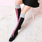 1 pair Unique Girl Medium socks Stovepipe Overknee Chicken socks Cute Design