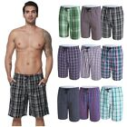 Men Striped Sports Gym Pants Shorts Trousers Running Jogging Beach Casual Trunks