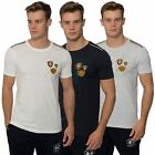 Mens Short Sleeved Tee Branded T-shirt Crew Neck Top Santa Monica Polo Club