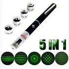 5mw 405 532 650nm Visible Beam Light Powerful 3 Color Laser Pointer Pen Torch