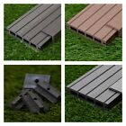 12 Square Metres of Wooden Composite Decking Inc Boards, Edging & Fixing Packs