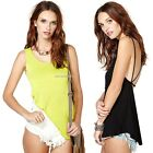 Hot New Sexy Women Cutout Backless Camisole Spaghetti Strap Vest Tank Blouse01