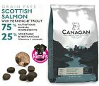 Canagan Scottish Salmon Grain-Free Dry Cat Food in 375g, 1.5kg, 4kg