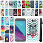 For Samsung Galaxy J3 Emerge J327 2017 TPU SILICONE Protective Case Cover + Pen