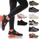 LADIES WOMENS TRAINERS LACE UP P.E GYM RUNNING JOGGING FITNESS SHOES SIZE
