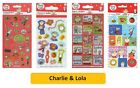 CHARLIE & LOLA - Colouring Stickers Activity Books Kids Party Gift Xmas
