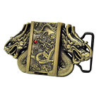 Double Dragon Removable Lighter Belt Buckle