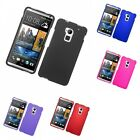For Htc One Max Hard Snap-on Rubberized Phone Skin Case Cover