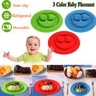 Lovely Color Silicone Mat Baby Kid Table Food Dish Tray Placemat Plate Bowl Gift