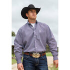 MTW1104427 Cinch Men's Navy with White Dots Long Sleeve Western Shirt NEW
