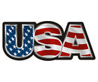 USA Decal American Flag United States Old Glory Vinyl Car Window Sticker TCS