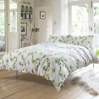 SPRING TREE MODERN LEAF DUVET COVER LUXURY 100% COTTON EASY CARE QUILT SET