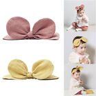 Baby Girls Cute Elastic Bowknot Hair Band Toddler Headband Princess Headdress
