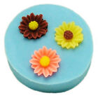 Reuseable silicone flower mold mould resin jewelry making crafts hairpieces