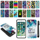 "For Apple iPhone 7 Plus 5.5"" Anti Shock Hybrid Protective Case Cover + Pen"