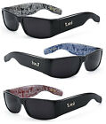 1 or 3 Pair(s) Mens OG Locs Authentic Rectangular Gangster Cholo Sunglasses LC01
