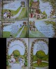 Flower Soft Nursery Rhyme Old Woman in Shoe Jack & Jill Round the Garden Toppers