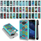 For Samsung Galaxy J3 J310 J320/ J3 V Hybrid Bumper Shock Proof Case Cover + Pen
