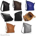 Giglio Unique shaped soft genuine leather mini cross body bag with zip opening