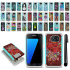 For Samsung Galaxy S7 Edge G935 Hybrid Bumper Shockproof Case Cover + Pen