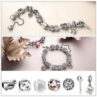 925 Silver European Charms Bead Fit Sterling Bracelet Snake Chain DIY Jewelry US