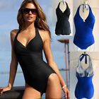 Womens Swimming Costume with Skirt 2 Piece Tummy Control Swimsuit 10 12 14 16 UK