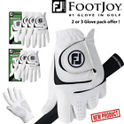 FOOTJOY GOLF GLOVES FOOTJOY WEATHERSOF * 2 or 3 GLOVE PACK * MENS GOLF GLOVES